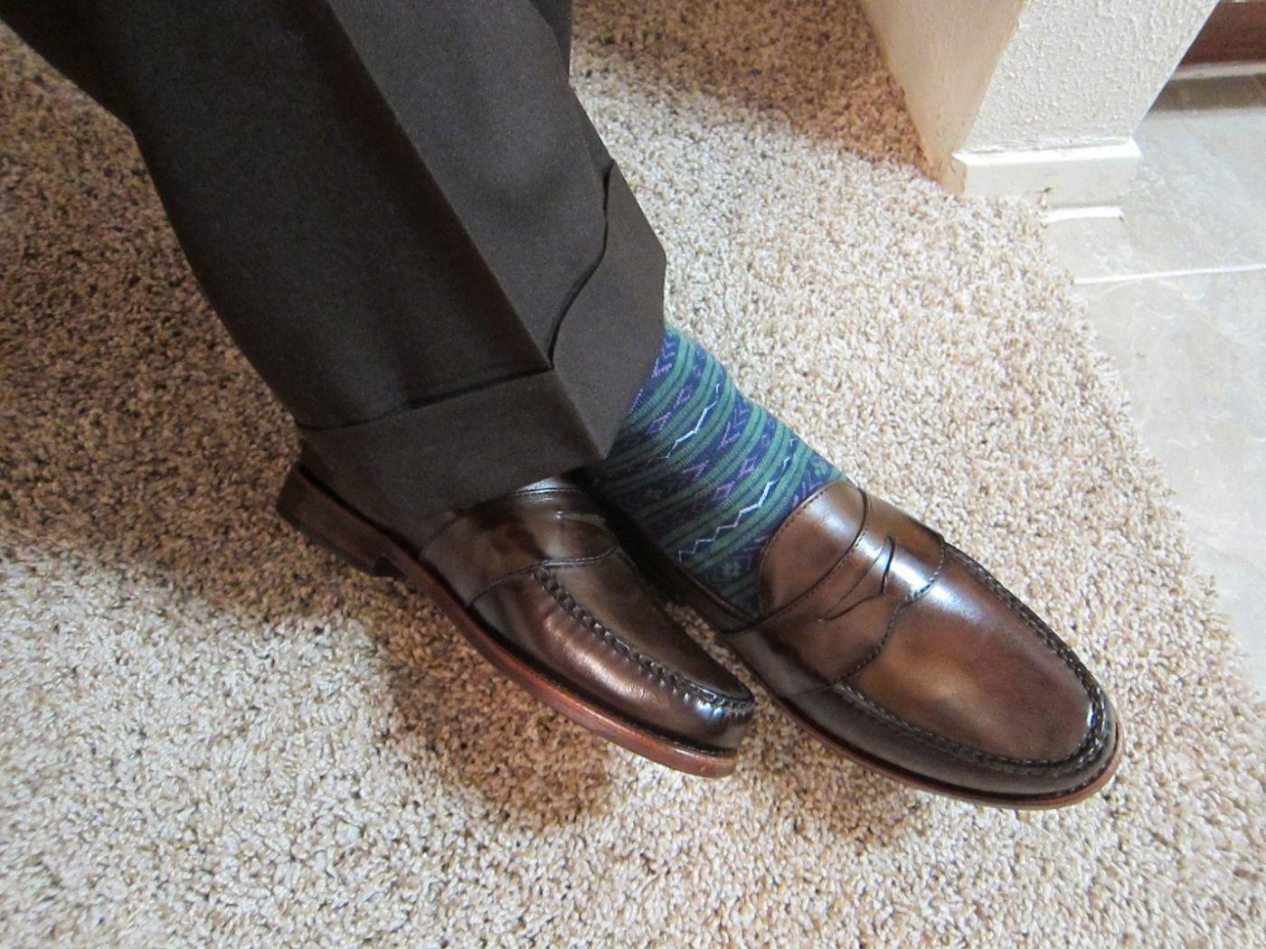 Ботинки под костюм мужской